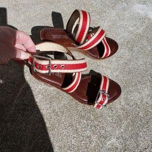 Michael Michael Kors Wedge Sandals size 8M
